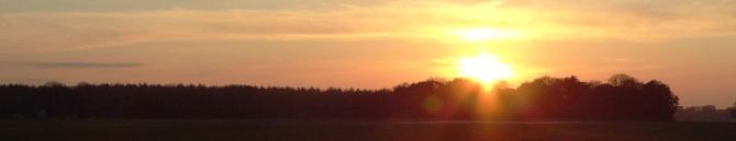 Gliding Sunset