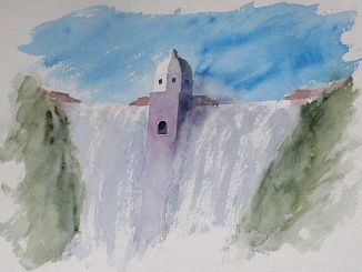 Still trying to capture the Elan Valley dams.
